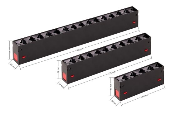 MEGALIGHT MAGNETIC S39_Black